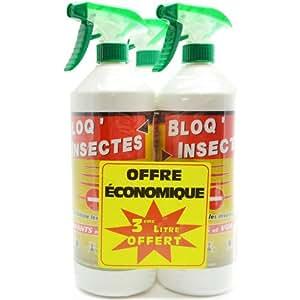 Bloq' insectes lot de 3 x 1L