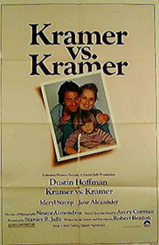 Kramer Vs Kramer Meryl Streep Dustin Hoffman Original Movie Poster