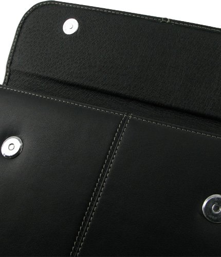 PDair EX1 Black Leather Case for Samsung Galaxy Tab 10.1v GT-P7100