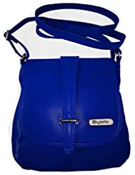 Rhysetta Women's Sling Bag / Designer Sling / Ladies Sling Bag - Blue