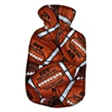Warm Tradition Football Fleece Hot Water Bottle Cover - COVER ONLY- Made in USA