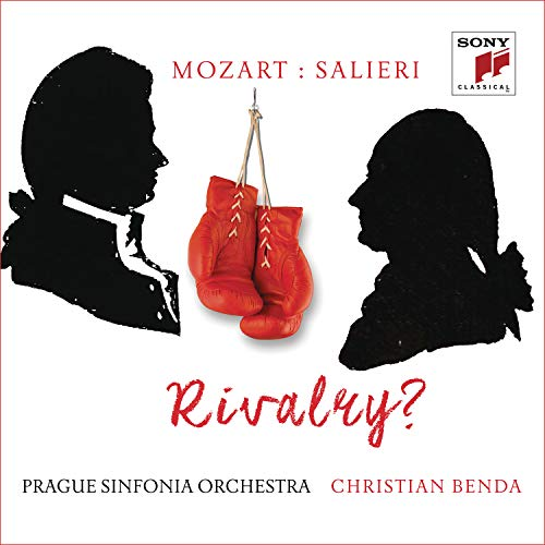 CD : MOZART / SALIERI / BENDA, CHRISTIAN - Mozart Versus Salieri: Rivalry? (Germany - Import)