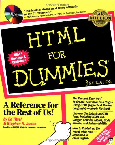 Html For Dummies (For Dummies (Computer/Tech))