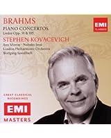 Brahms : Concertos pour piano n° 1 et n° 2 - Lieder Op. 91 et 105