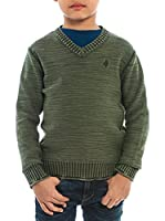 M C S Jersey Tricot Delave (Verde Oscuro)