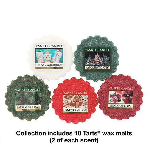 Yankee Candle Holiday Favorites Tarts Wax Melts Collection Gift Set (Holiday Wax compare prices)