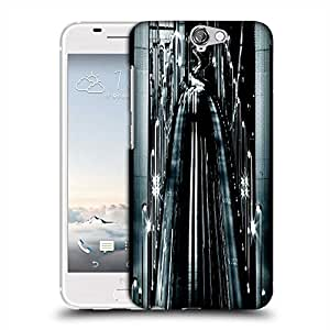 Snoogg Nite Road View Designer Protective Phone Back Case Cover For HTC one A9