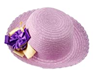 L9964 NY Deal Women's Large Brim Straw Hat, Various Color Available