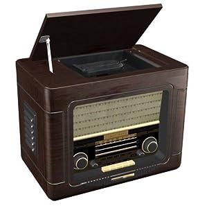 witzzline radio reveil bois retro vintage cuisine maison. Black Bedroom Furniture Sets. Home Design Ideas