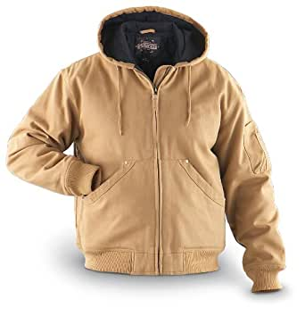 Guide Gear Duck Work Jacket, WHEAT, LG