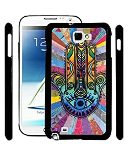 Aart Designer Luxurious Back Covers for Samsung Galaxy Note 2 + Lazy 360 Foldable Mobile Stand for Mobiles by Aart Store.