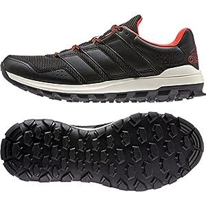 adidas Performance Men's Slingshot TR M Running Shoe, Grey/Black/Red, 10.5 M US