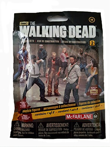 McFarlane Toys Construction Sets- The Walking Dead TV Series 2 Blind Bag Figure (Walker Bag) (Walking Dead Figures Series 2 compare prices)