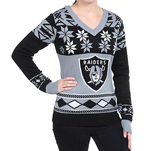 Unisex New Orleans Saints Klew Black Slogan Crew Knit Ugly Sweater