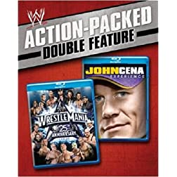 WWE: WrestleMania - 25th Anniversary / The John Cena Experience (Double Feature) [Blu-ray]