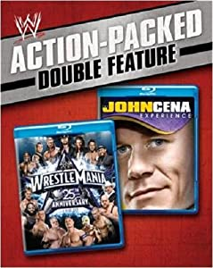 WWE Action-Packed Double Feature: WrestleMania 25th Anniversary / The John Cena Experience [Blu-ray]