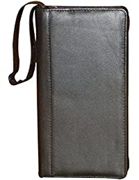 Style98 Leather Travel Document Holder,Card Holder & Chequebook Holder For 3 Passports - B01NAK2KV6