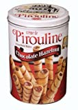 Pirouline Rolled Wafers, Chocolate Hazelnut, 32-Ounce Cans (Pack of 2)