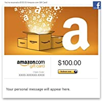 Amazon.com Gift Cards - Facebook Delivery from Amazon