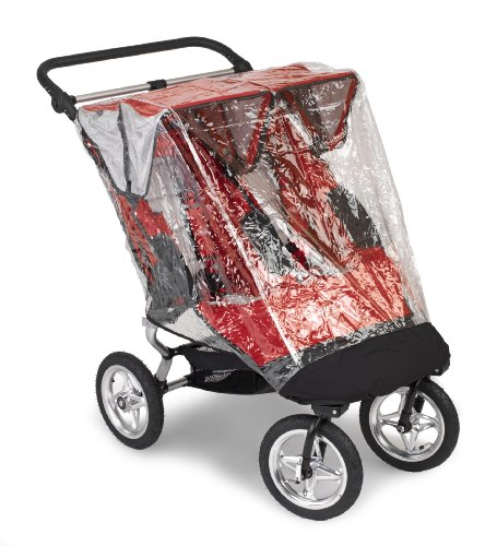 Baby Jogger Performance Stroller Double Rain Canopy back-938232