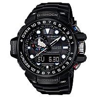 Casio G-Shock Triple Sensor GWN-1000B-1AER Reloj radiocontrolado para hombres Alímetro, Barómetro, termómetro, brújula marca Casio G-Shock