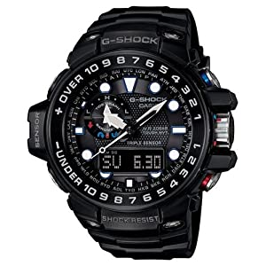 Reloj Casio G-shock Gwn-1000b-1aer Hombre Negro