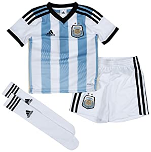 2014-15 Argentina Home World Cup Mini Kit by adidas