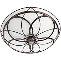 Hunter 82004 Orleans Bathroom Fan with Light, Imperial Bronze