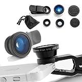 Camkix Universal 3 In 1 Camera Lens Kit For Smart Phones (iphone Galaxy HTC Motorola) Ipad Ipod Touch Laptops...