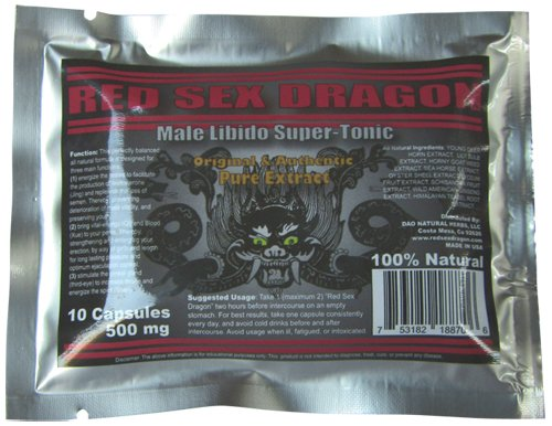 Red Sex Dragon - Male Enhancement Pills - Male Performance