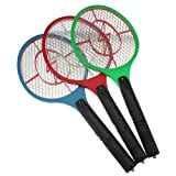 New Chance 1 Electric Bug Zapper Insect Fly Mosquito Swatter Killer Rechargeable LED Racket
