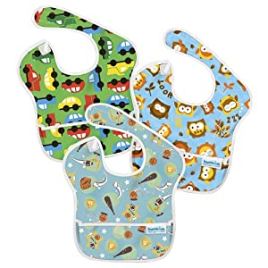 Bumkins Diaper SuperBib 3 Pack