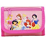Disney Princess Tri-fold Wallet - Light Pink