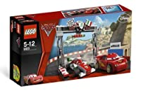 LEGO Disney Cars Exclusive Limited Edition Set #8423 World Grand Prix Racing Rivalry from LEGO