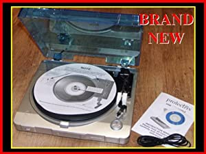 RETRO TURNTABLE VINYL RECORD DECK PLAYER WITH USB CONNECTION - WORKS WITH 33-45-78 SIZE RECORDS
