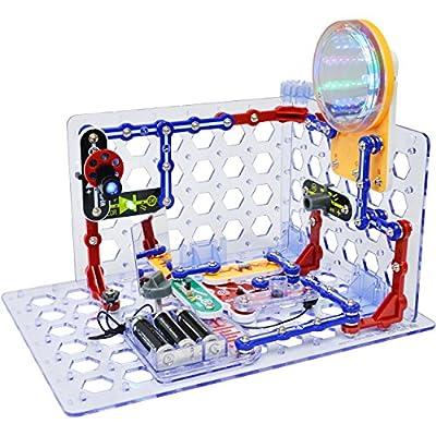 Snap Circuits 3D Illumination Electronics Discovery Kit by Elenco Electronics Inc