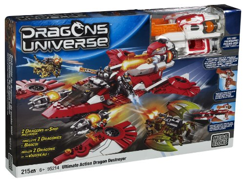 Mega Bloks Ultimate Action Dragon Destroyer