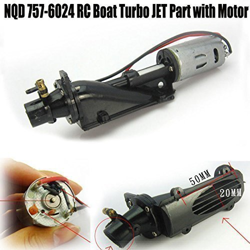 Yosoo 1 Pcs Rc Boat Turbo JET Part with 390 Motor for NQD 757-6024 (Jet Boat Parts compare prices)