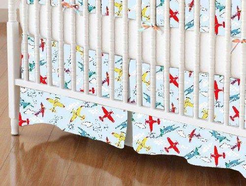 Airplane Crib Sheet