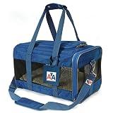Sherpa-American Airlines Navy Blue Duffle Pet Travel Carrier Tote Bag. Medium 17