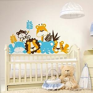 Adesivi creativi adesivo murale bambini buongiorno - Stickers cameretta bambino ...
