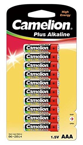 CAMELION pLUS piles lR03 micro aAA de alcaline 1,5 v/mN/1250 mAh