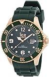 ICE-Watch - Montre Mixte - Quartz Analogique - Ice-Style - Forest Green - Big - Cadran Vert - Bracelet Silicone Vert - IS.FOR.B.S.13