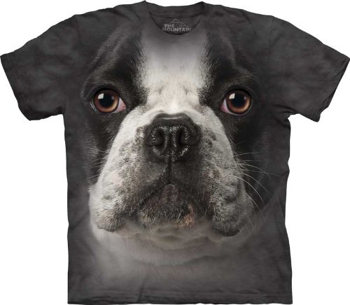 The Mountain French Bulldog Face T-Shirt - Child - Small front-653193