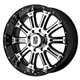 XD Series Hoss (Series XD795) Gloss Black Machined - 16 x 8 Inch Wheel