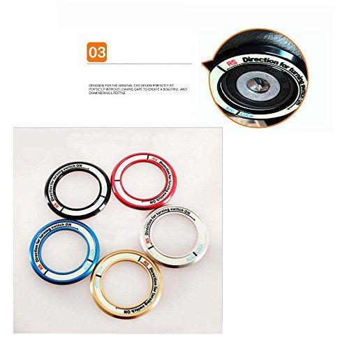 PolarLander-laccensione-Portachiavi-Accendere-decorativi-anello-luminoso-Auto-ACC-Blocco-Circles-Adesivi-copertura-per-H-ighlander-Car