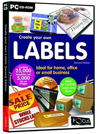 Create your own Labels (Second Edition) (PC)