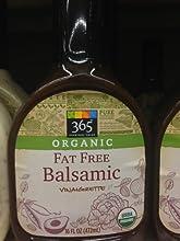 365 Everyday Value Organic Fat Free Balsamic Dressing