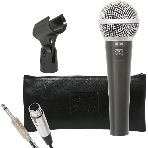 """Galaxy Audio Rt-66P Wired Microphone W/15 Ft. 1/4"""" Cable"""