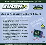 Zoom Karaoke Zoom Karaoke CD+G - Platinum Artists 73: The Scissor Sisters & The Darkness